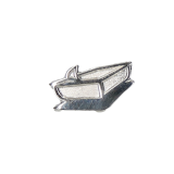 Badge, silver