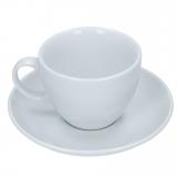 Cappuccino Tasse, weiß