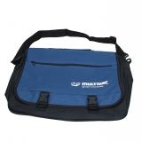 Shoulder bag, blue/black